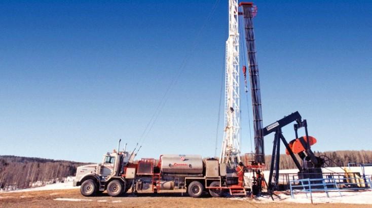 Буровые установки для добычи нефти и газа