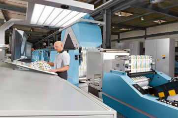 Печатное и обрабатывающее оборудование