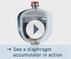 Принцип действия мембранного аккумулятора